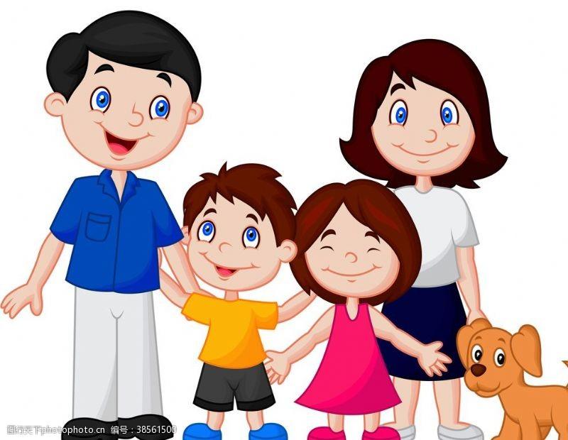 人物图片素材卡通小孩