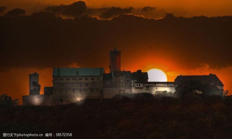 瑞士城堡古堡