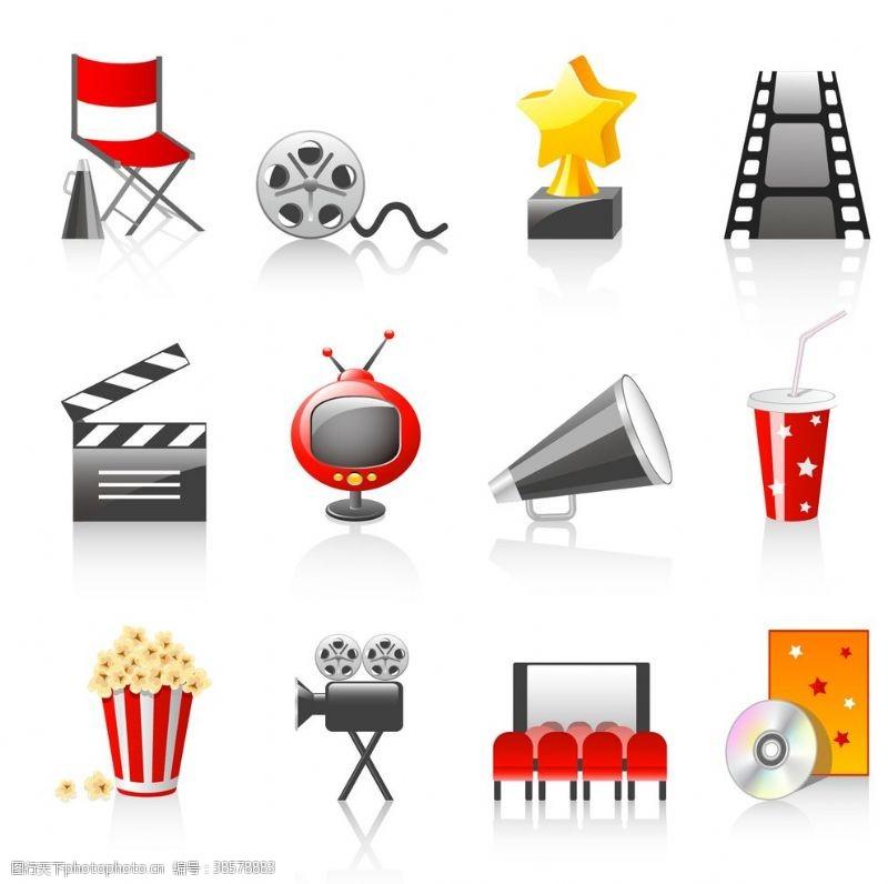 拍电影电影图标