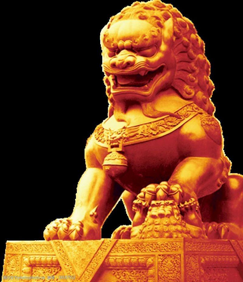 北京天安门天安门狮子
