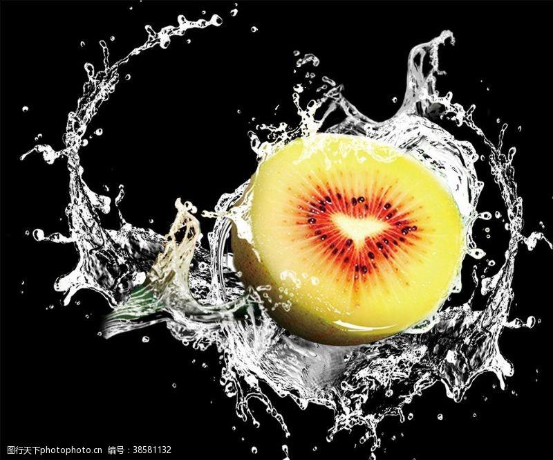 水果不干胶猕猴桃