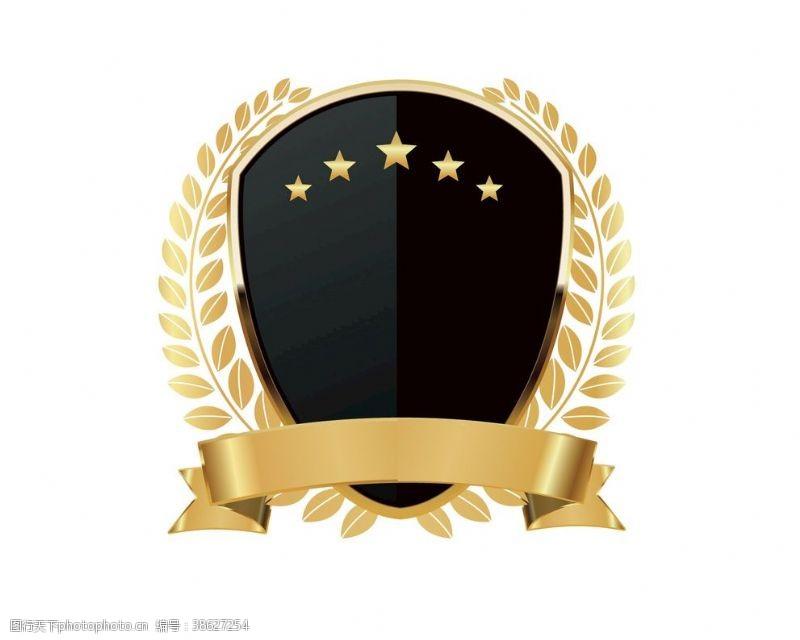 金属盾牌欧式盾牌标志