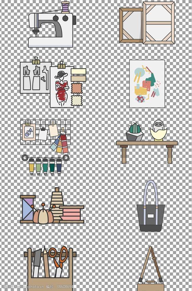 手绘服装设计工具