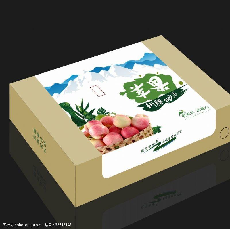 包装盒效果图背景