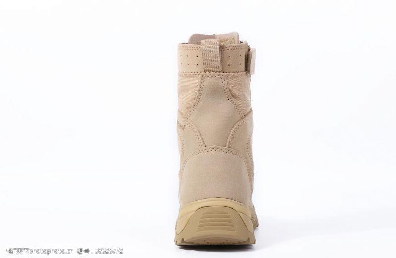 登山鞋沙漠战术靴拍摄