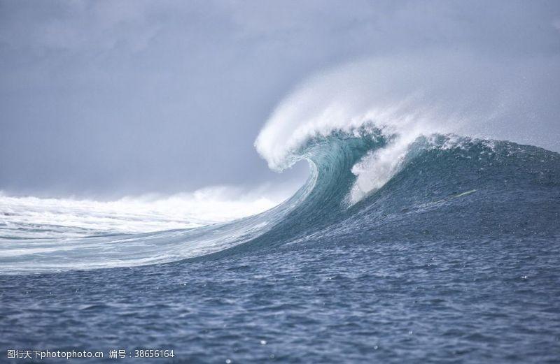 印度洋大海海浪
