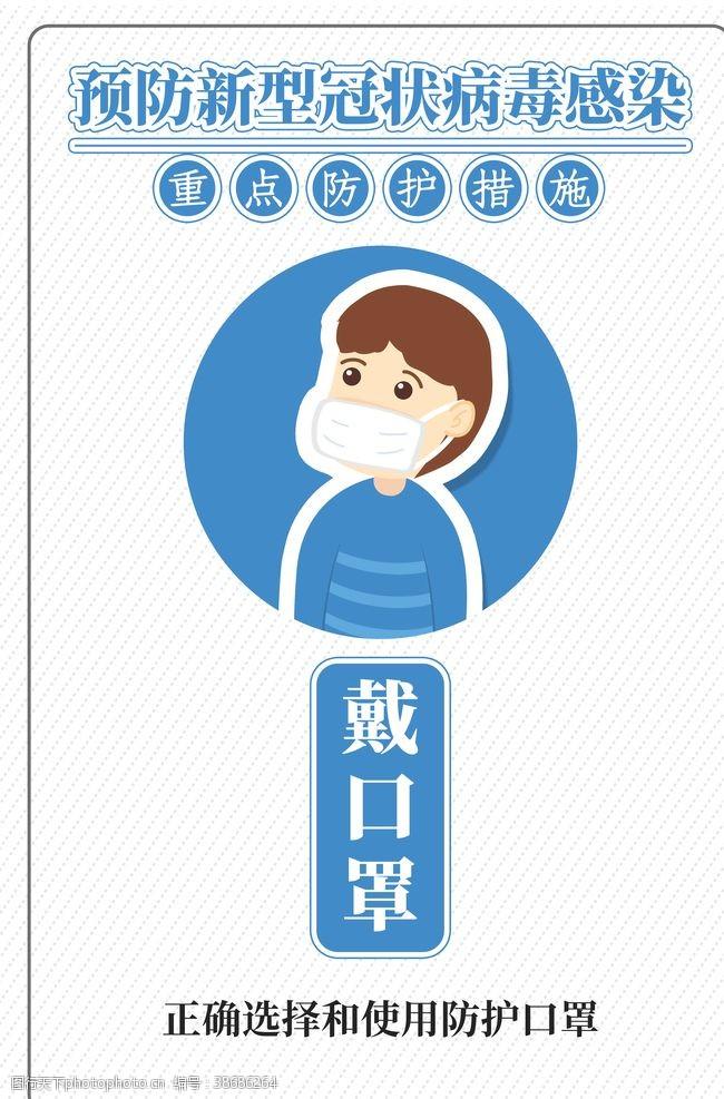 开工海报疫情防护展板