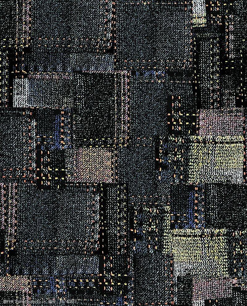 設計布紋底紋印花