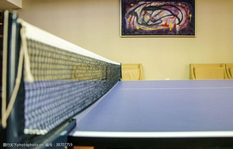 打球乒乓室
