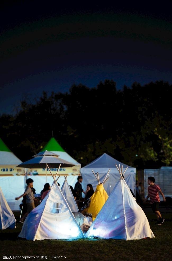 帐篷户外露营