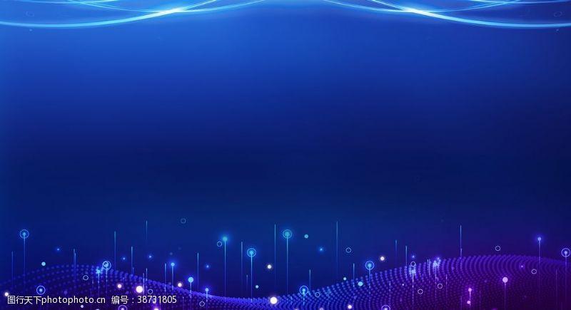蓝色展板模板蓝色展板背景