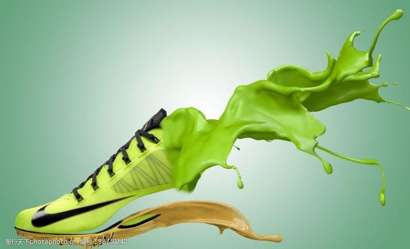 設計咦鞋子在融化