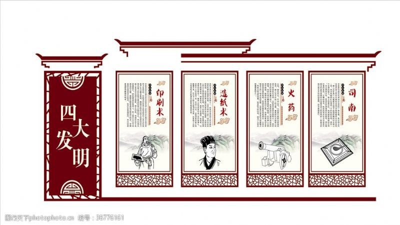 印刷术四大发明