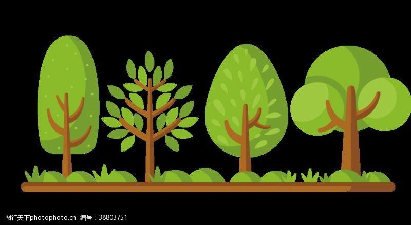 树木卡通卡通树木