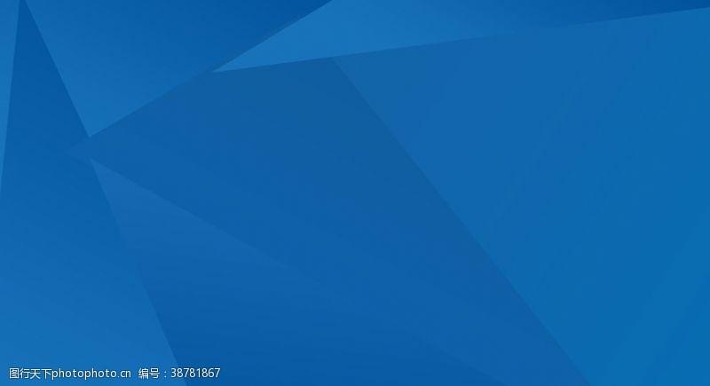 蓝色展板模板蓝色背景