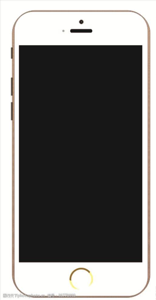 手机矢量图手抄报