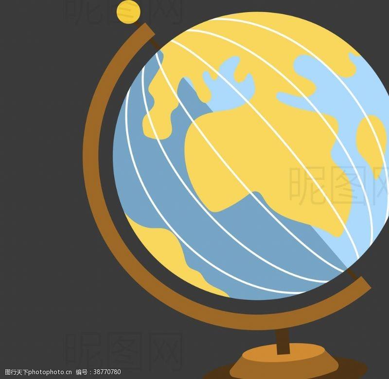 沙堡地球仪