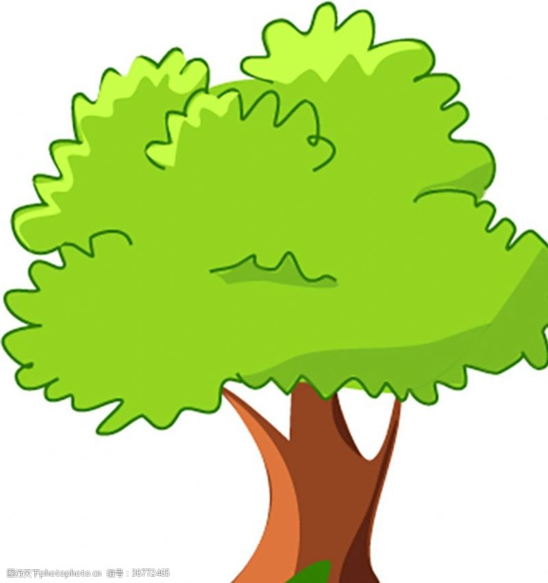 树木卡通卡通矢量树木