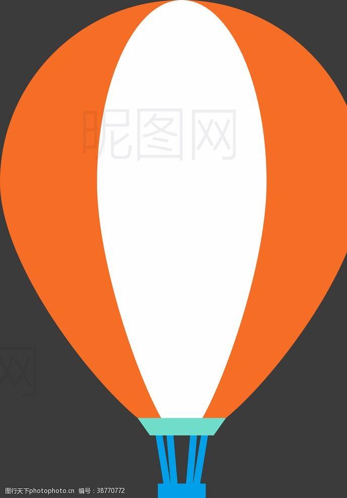 沙堡热气球