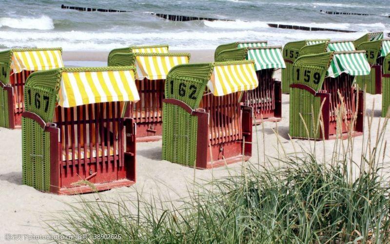度假胜地沙滩椅
