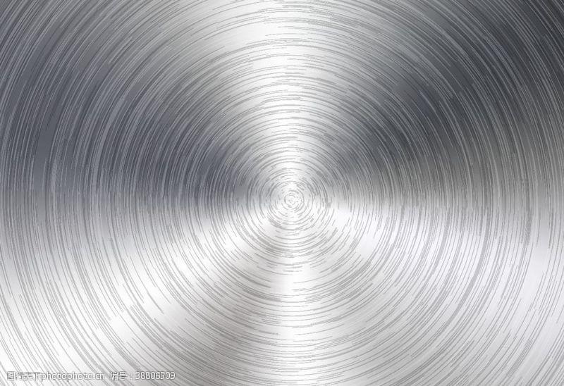 梦幻光圈不锈钢光圈效果矢量图