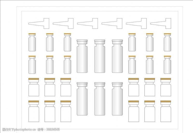 包装盒效果图冻干粉套盒设计包装设计护