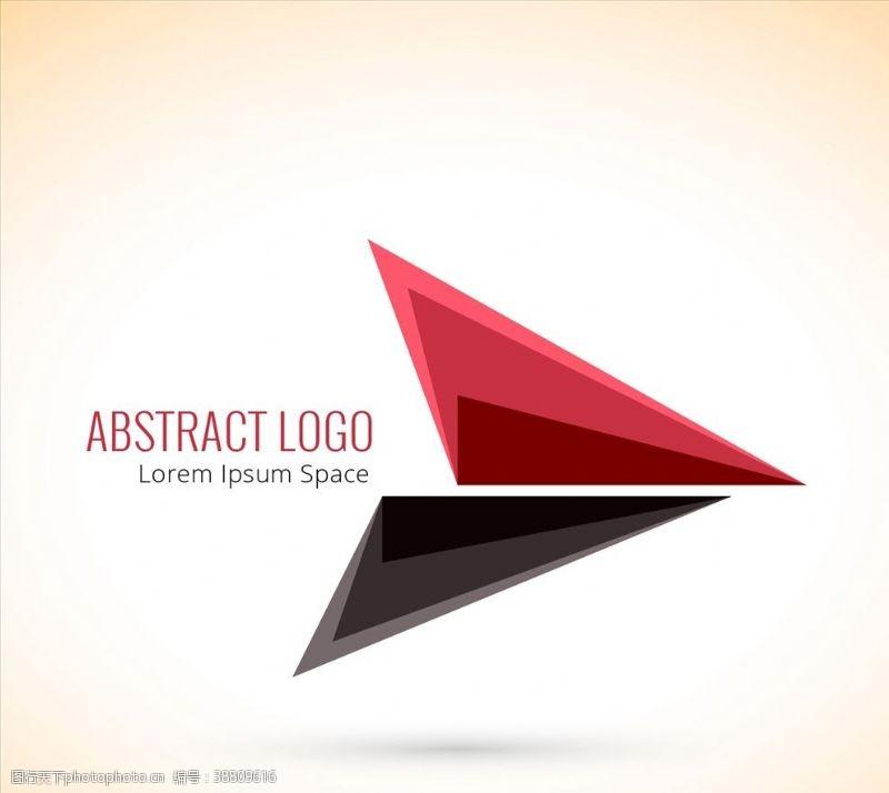 标志三角形标志图片