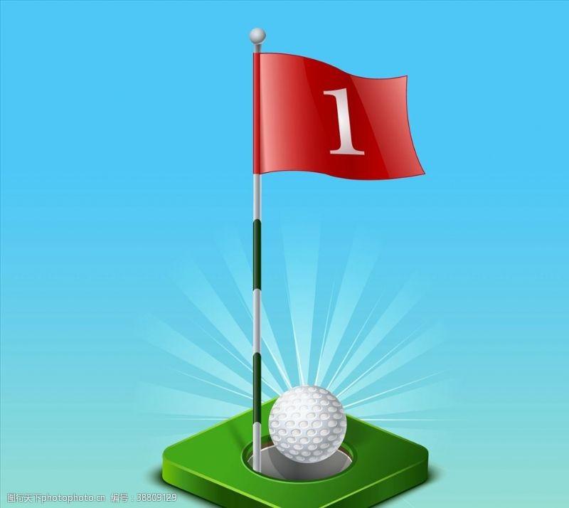 比赛运动 高尔夫游戏图片
