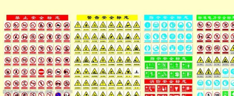 警示标牌禁止鸣笛静止通行