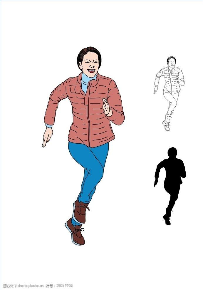 健美 跑步锻炼图片