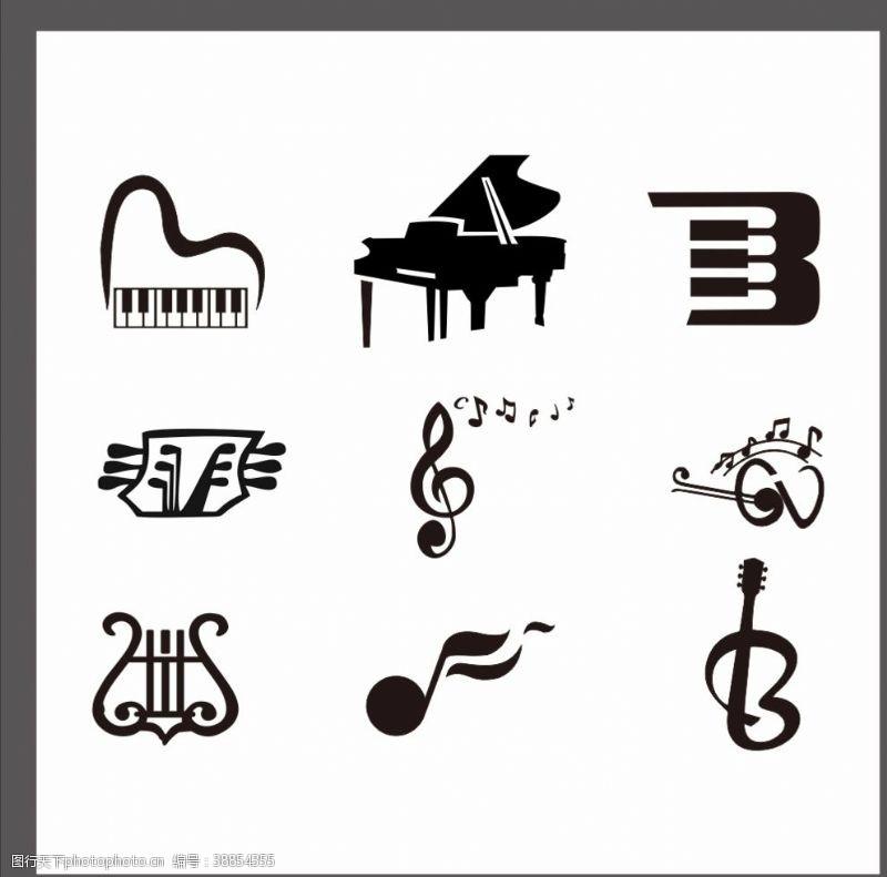 休止符音乐素材