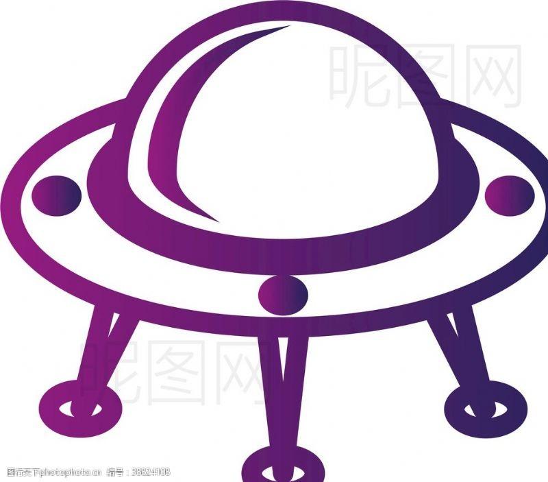 天文望远镜UFO飞碟
