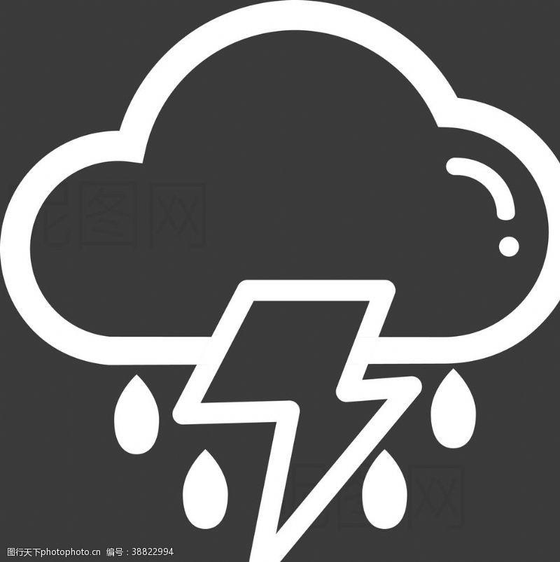 雷雨 雷阵雨图片