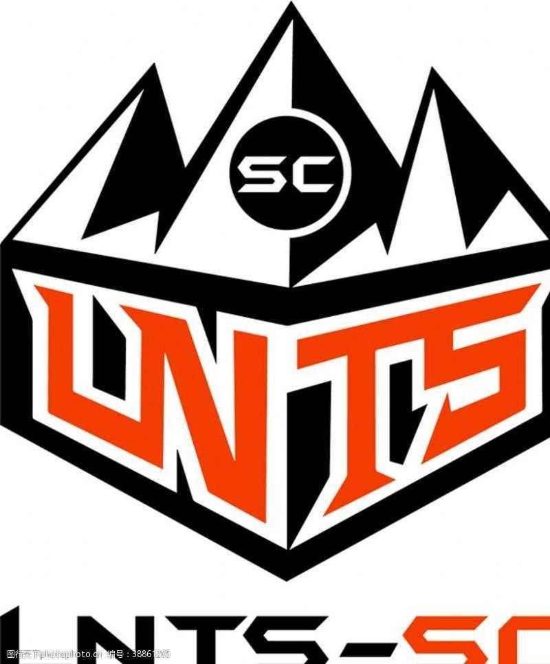 体育设计鲁能泰山SC电子竞技战队队徽