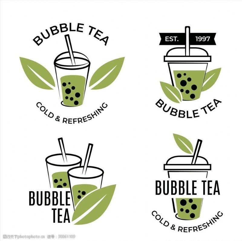 泡泡茶标志