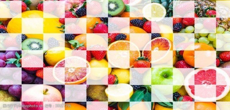 水果店背景墙素材