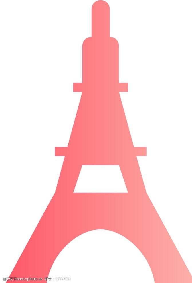 欧美设计埃菲尔铁塔