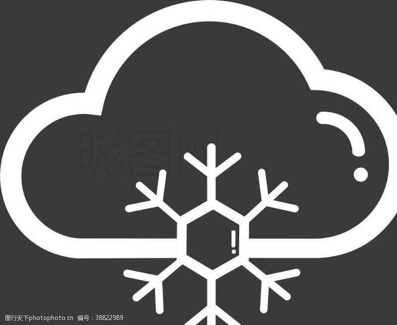 晴转多云 大雪图片