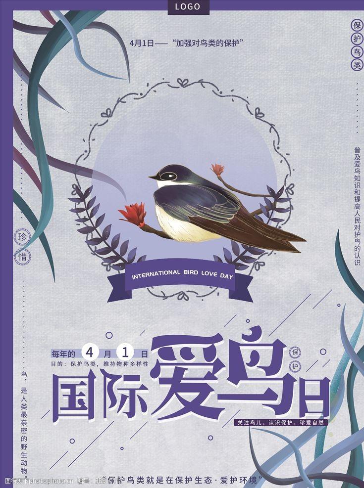 装饰画国际爱鸟日