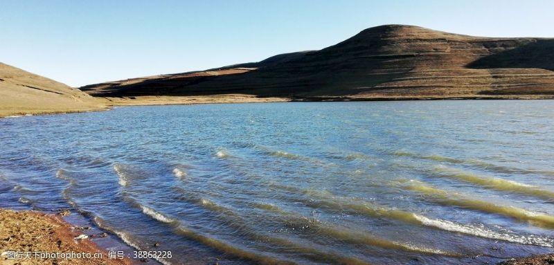 海岛摄影蓝色湖泊海浪风景