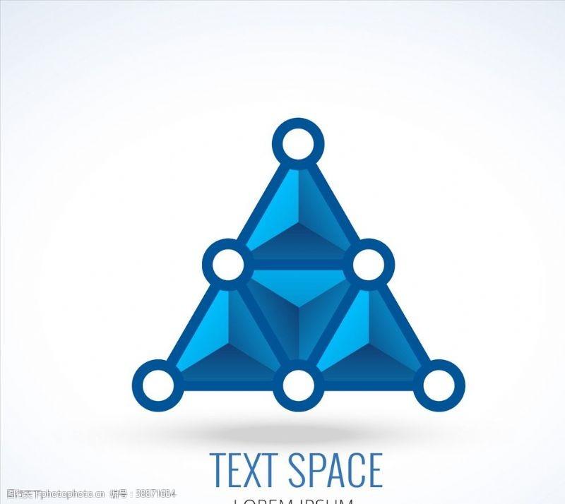 三角形标志背景