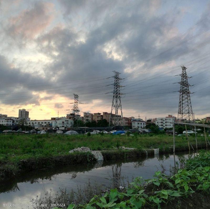 村子乡村风景