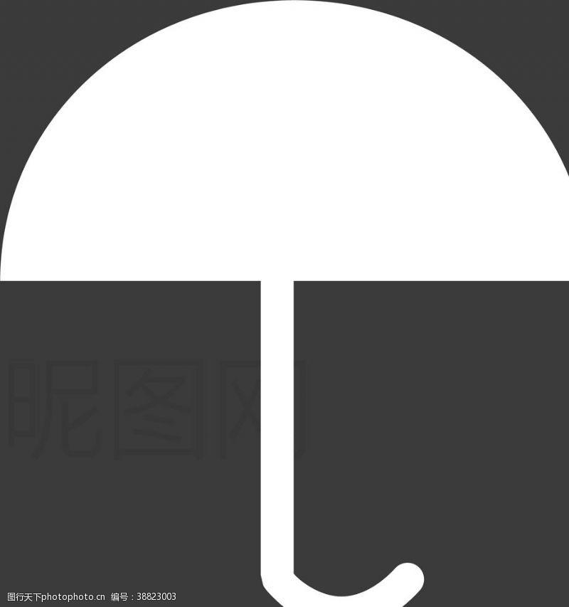 雷雨 雨伞图片