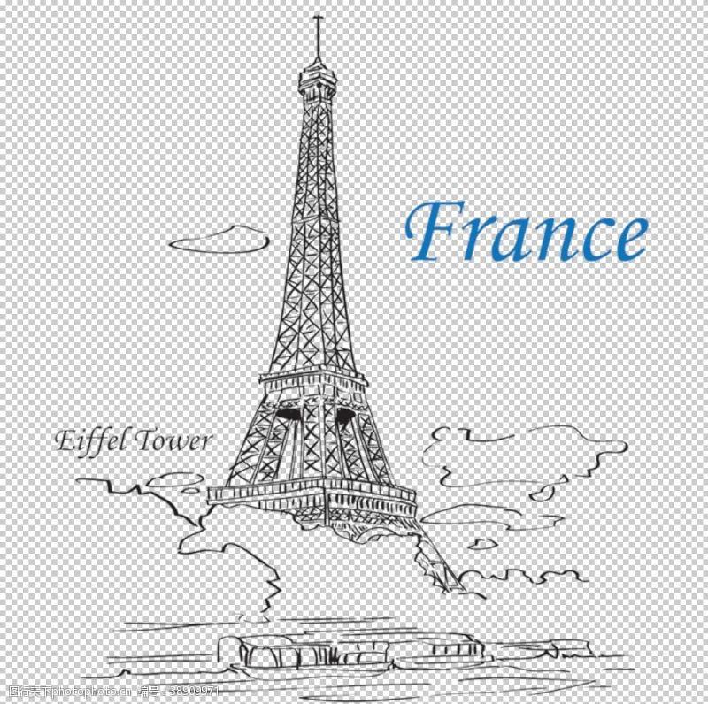 高楼埃菲尔铁塔