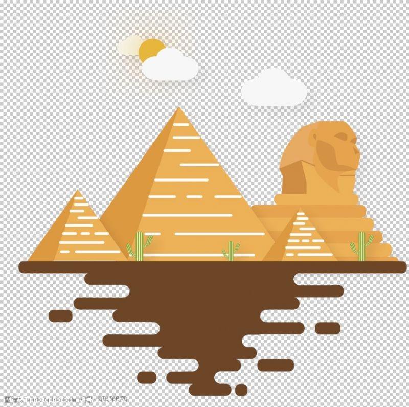 高楼埃及金字塔