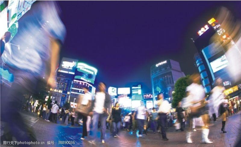 人流步行街繁华