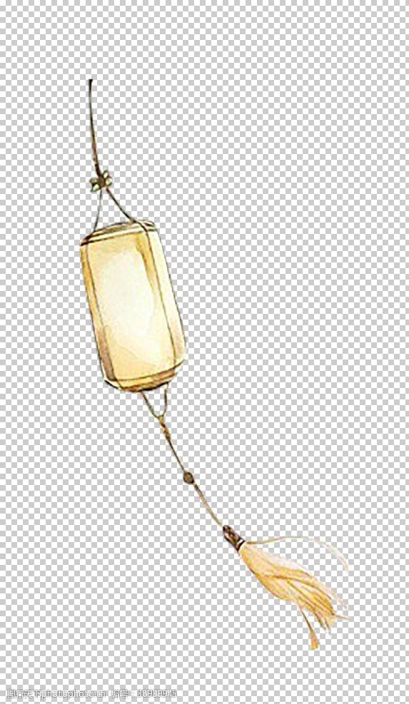 中国风展板灯笼