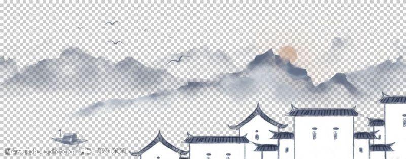 中国风展板古风