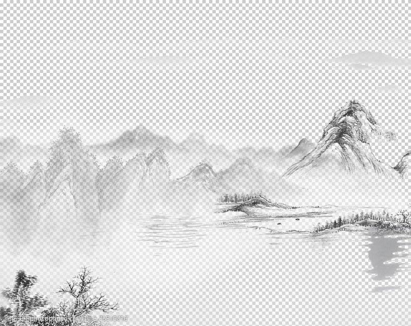 中国风展板古风背景
