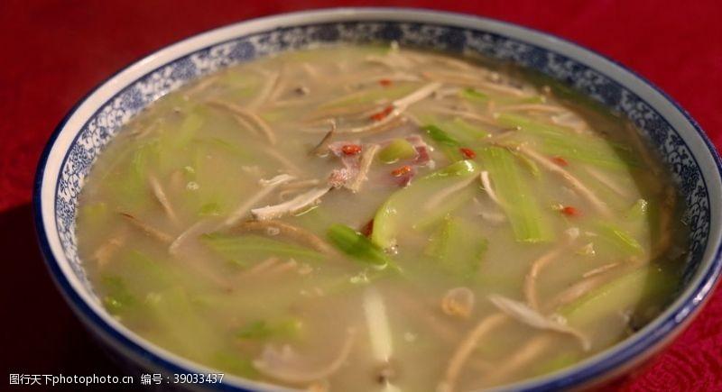 传统美食 菌汤图片
